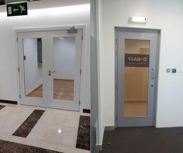 Galazed Doors